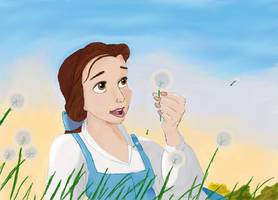 Belle Sketch by LahArts