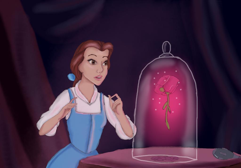 Enchanted Rose By LahArts On DeviantArt