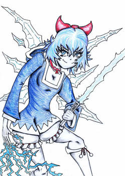 Cirno the Strongest Padawan