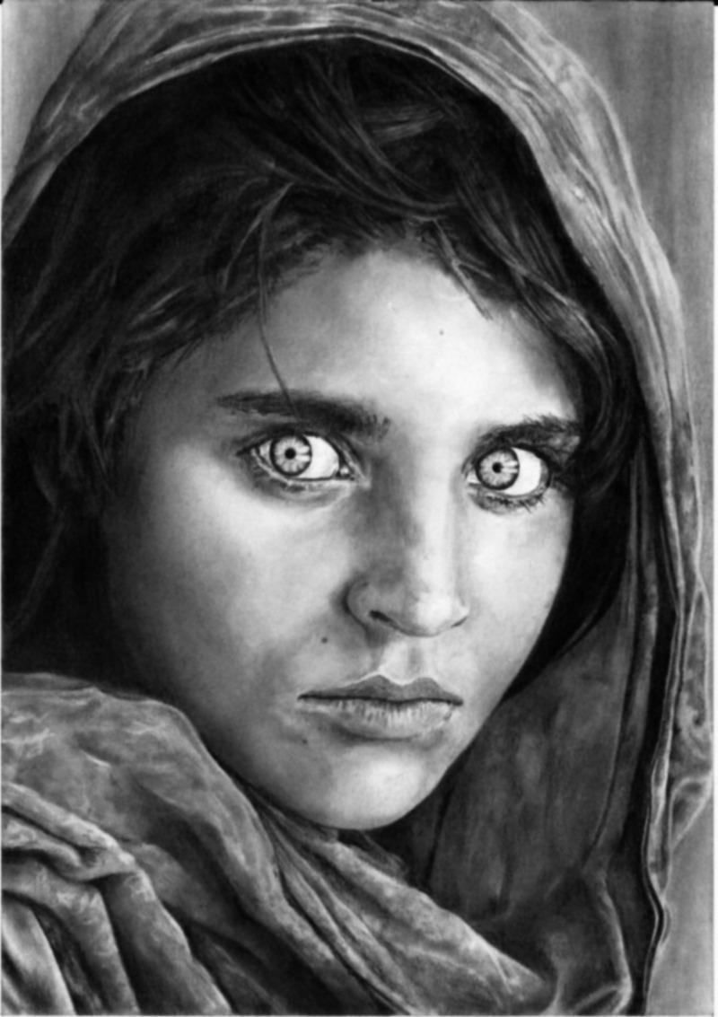 Afghan Girl - Gula