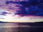 Sunset on the Washington Ferry