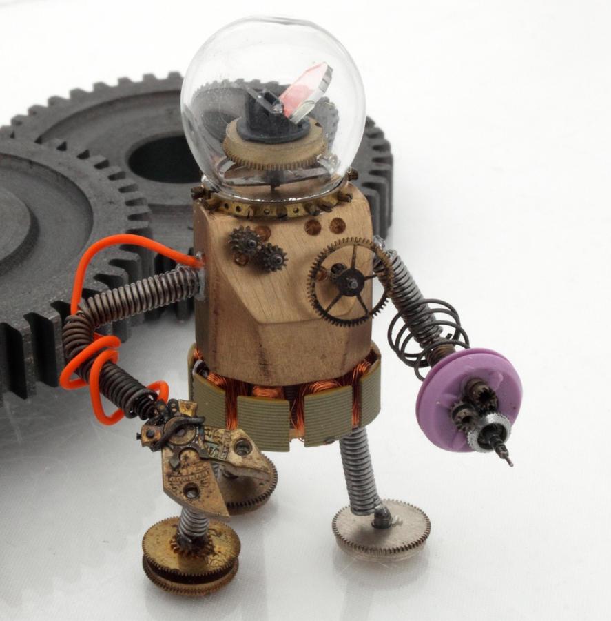 SteampunkRobot1 2 by AphexPhoton