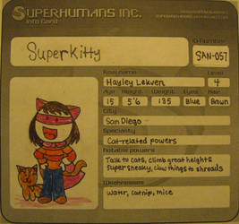 Superkitty by PixieParrot