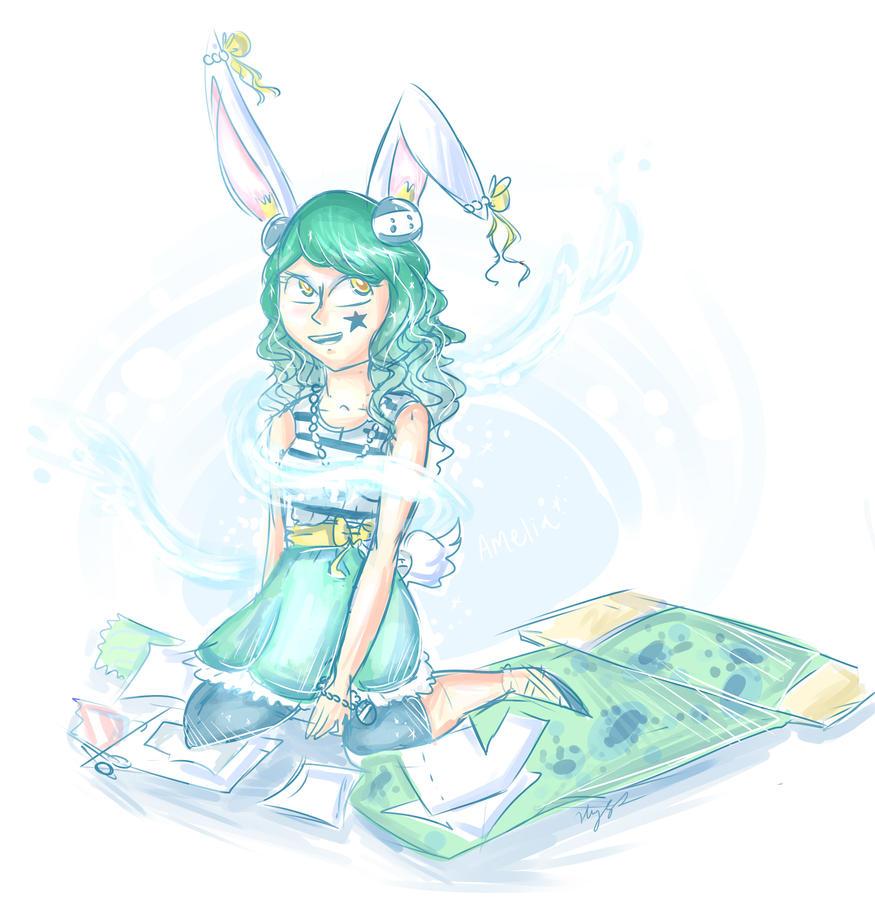 Amelia by PixieParrot