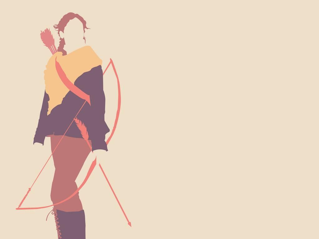Katniss by Sinigang-na-Baboy