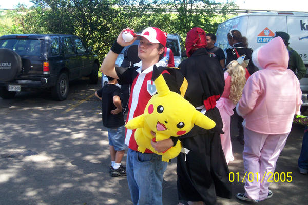 Pokemon Trainer Taunts Cosplay by X-Rho-X