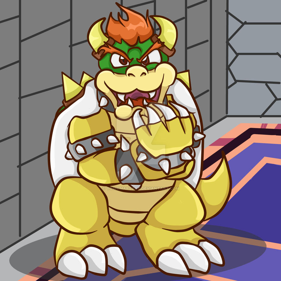 Super Mario RPG - Bowser's Claws by yoshimarsart