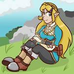 Legend of Zelda BotW: Princess Zelda