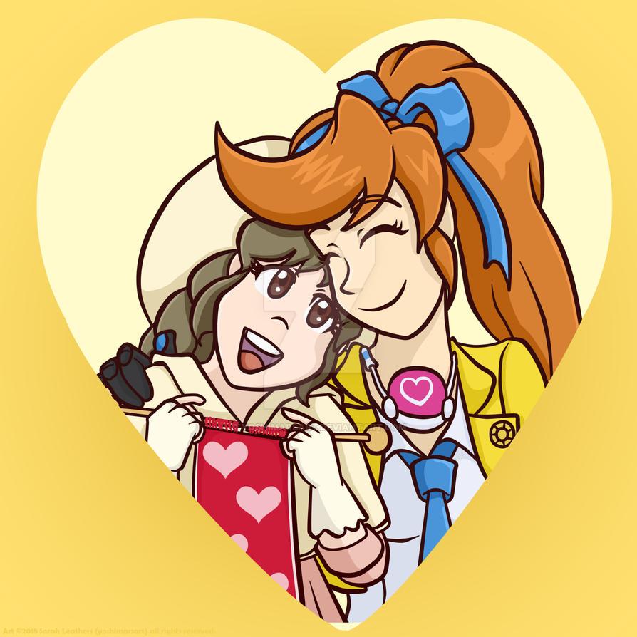 Junithena Heart! by yoshimarsart