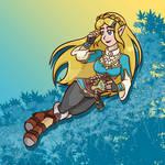 BotW Zelda - Flowers