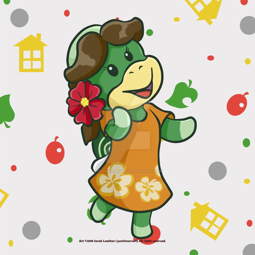 Animal Crossing - Leliani! by yoshimarsart
