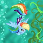 Seapony Rainbow Dash!