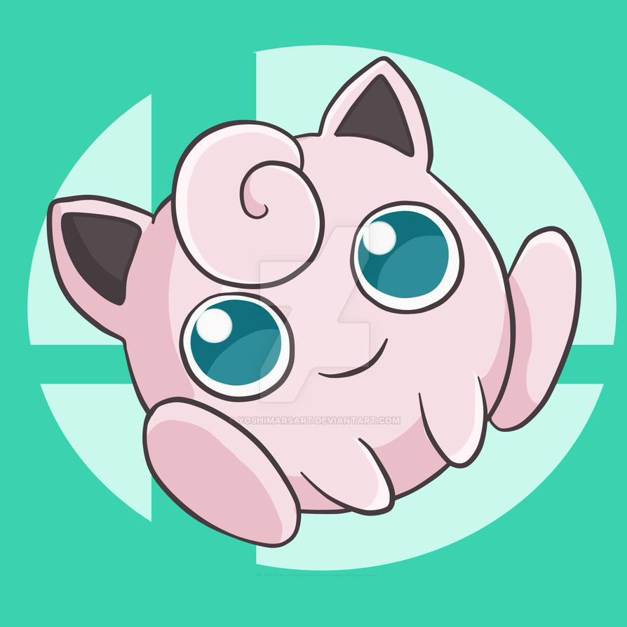 Chibi Smash Bros Jigglypuff By Yoshimarsart On Deviantart