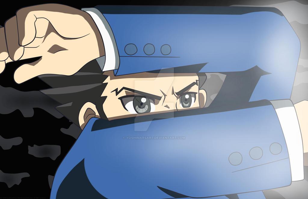 Ace Attorney Anime Redraw - Phoenix Never Lose