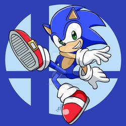 Chibi Smash Bros - Sonic!