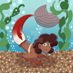 Apple Mermaid!