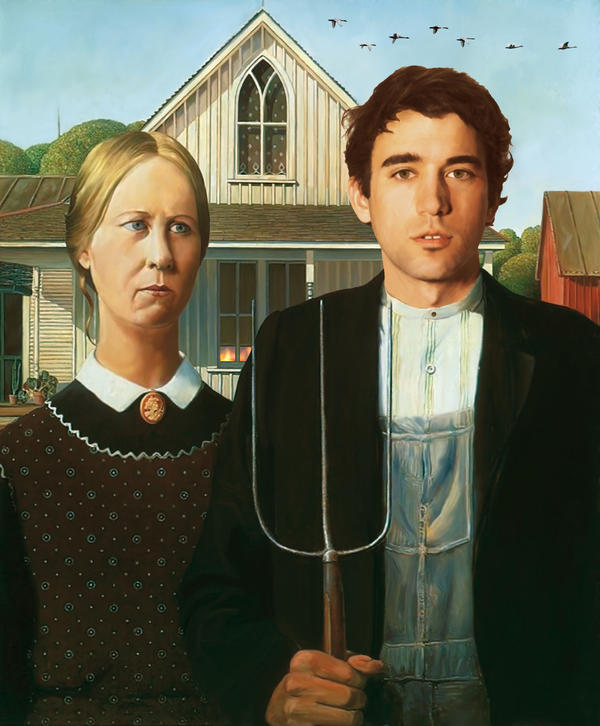 american gothic with sufjan by sebalaura