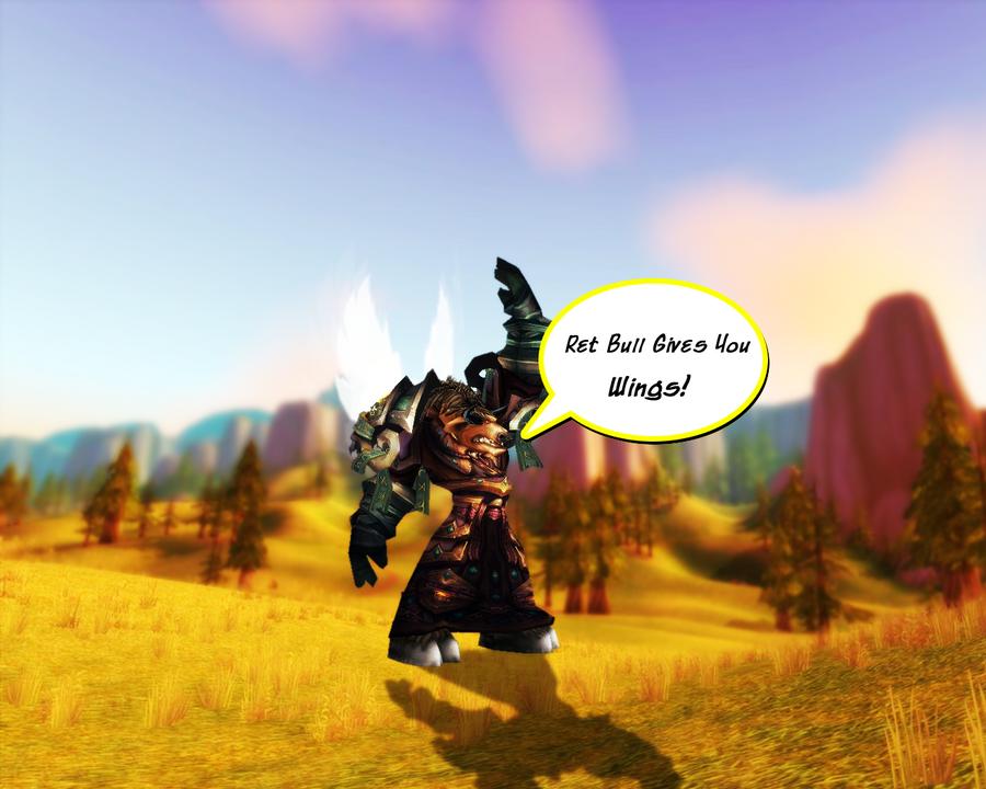 Ret bull gives you wings by flashninja on deviantart