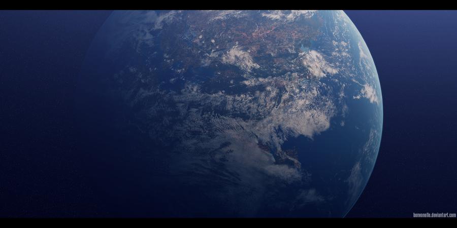 Super-Earth (2) by Bonvanello