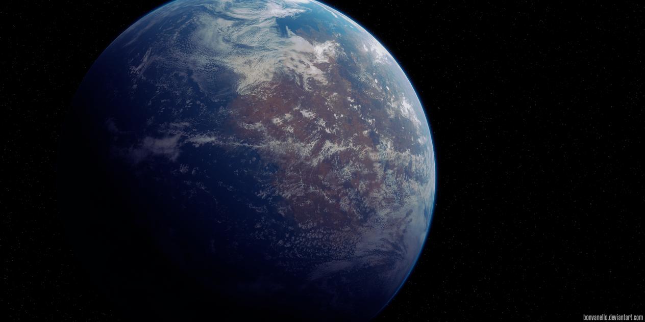 New Earth by Bonvanello