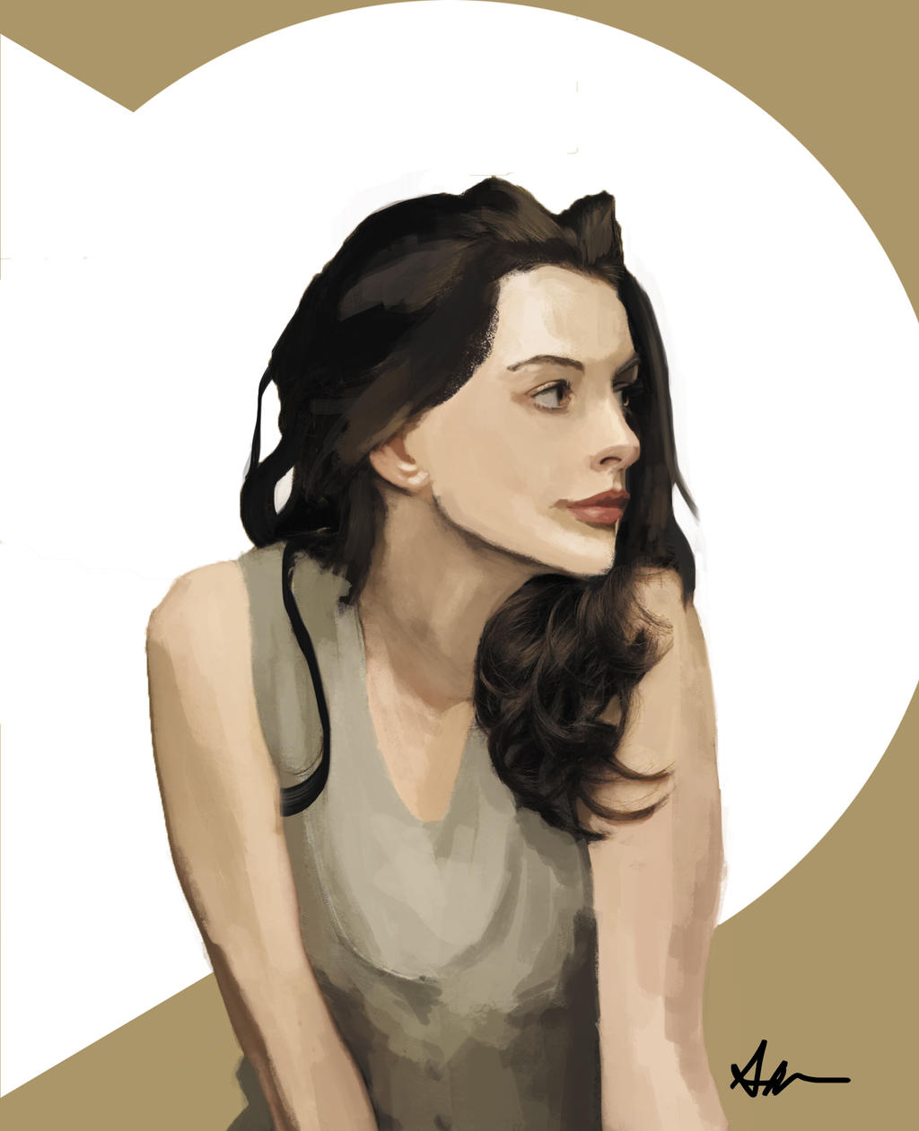Anne Hathaway By AiramPla On DeviantArt