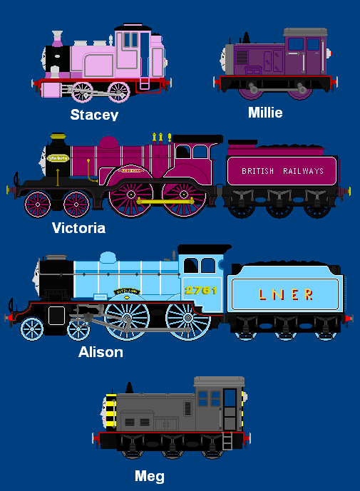 Thomas and Friends OC's by AngryScottishBurd on DeviantArt I Am Really Sorry Wallpaper