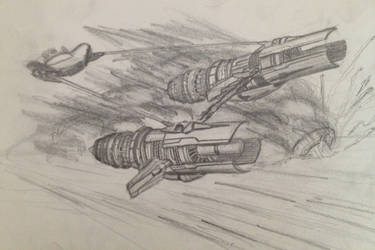 Podracer by lonewolf7337