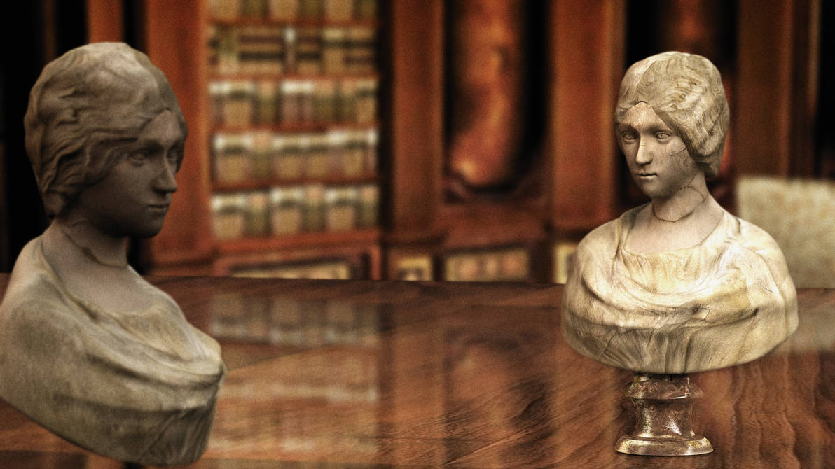 Buste Feminin by Ankhsethamon