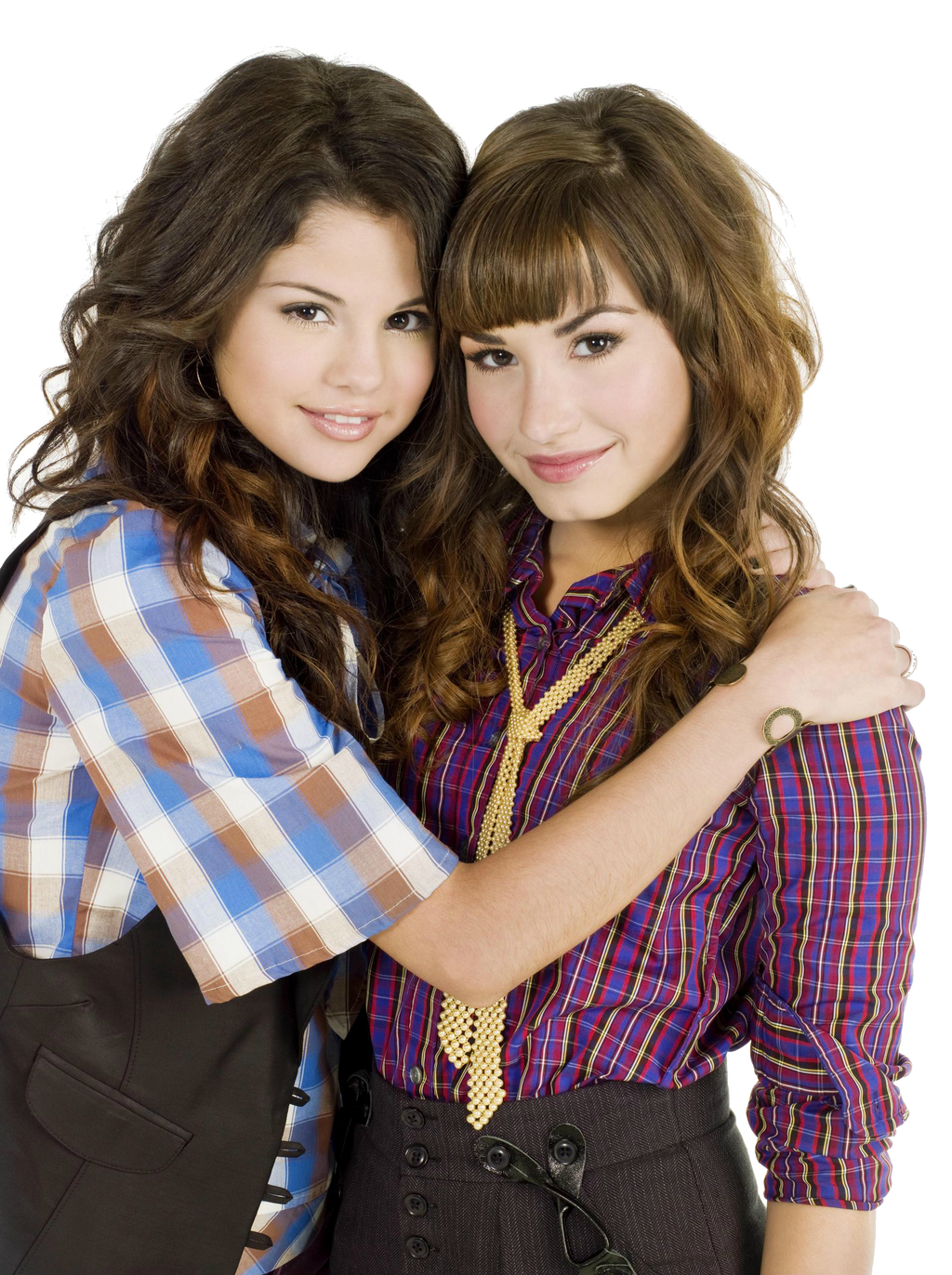 Demi Lovato And Selena Gomez PNG by SwiftLovers on DeviantArt