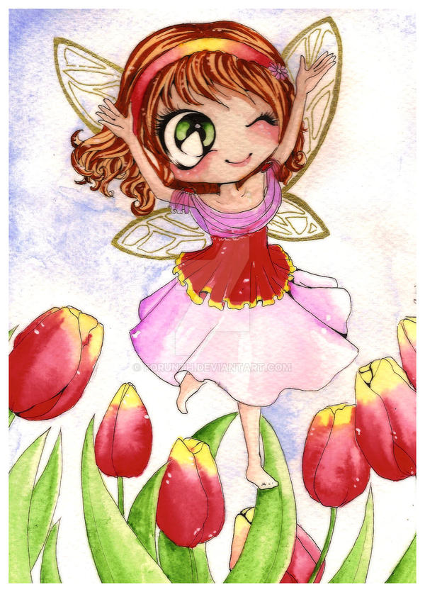 Tulip Fairy by Forunth