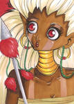 ACEO 17: Piki by Forunth