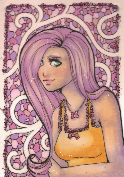 ACEO 87: The Mane Event: Subtle Hair by Forunth