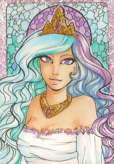 ACEO 89: The Mane Event: Shiny Hair by Forunth