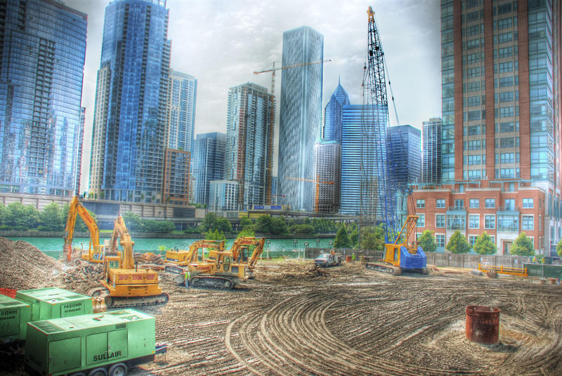Chicago Spire the beginning: 3 by spudart