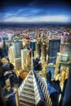 Chicago skyline celebrity bldg by spudart