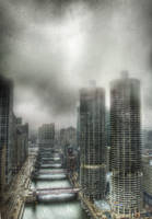 Chicago's Moving Bridges II by spudart