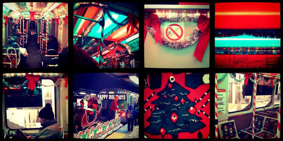 chicago christmas train by spudart - Christmas Train Chicago