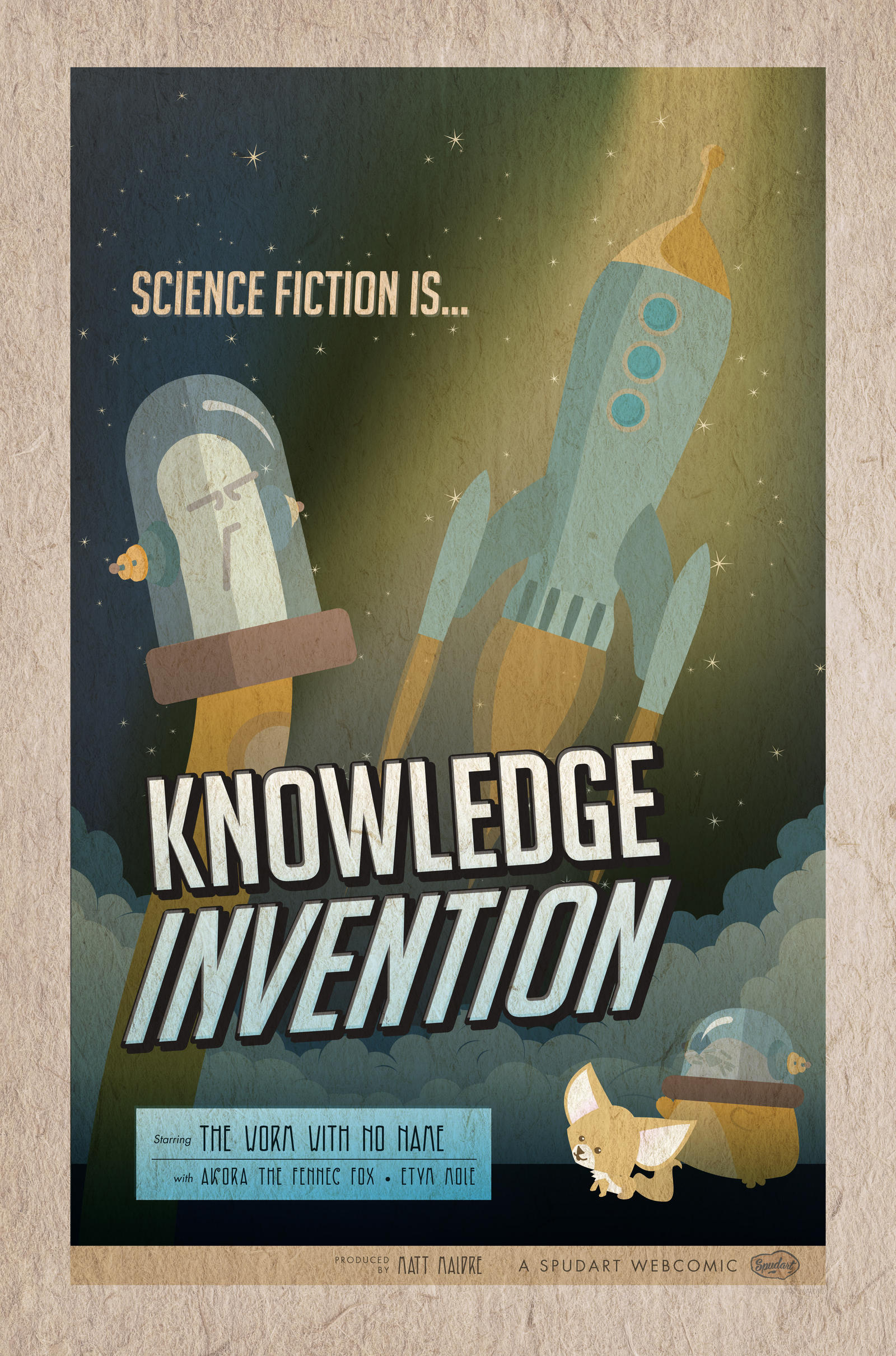 Science fiction is Knowledge invention by spudart