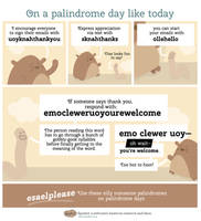 Webcomic: Use silly made-up palindromes