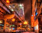 Chicago L Madison Stop
