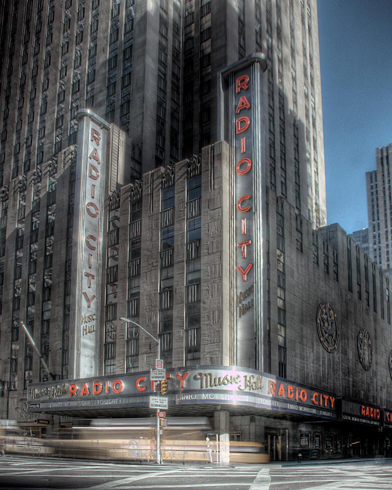Radio City Music Hall by spudart