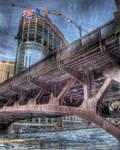 Frozen Chicago River IV