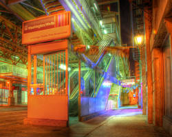 Washington Wells el station by spudart