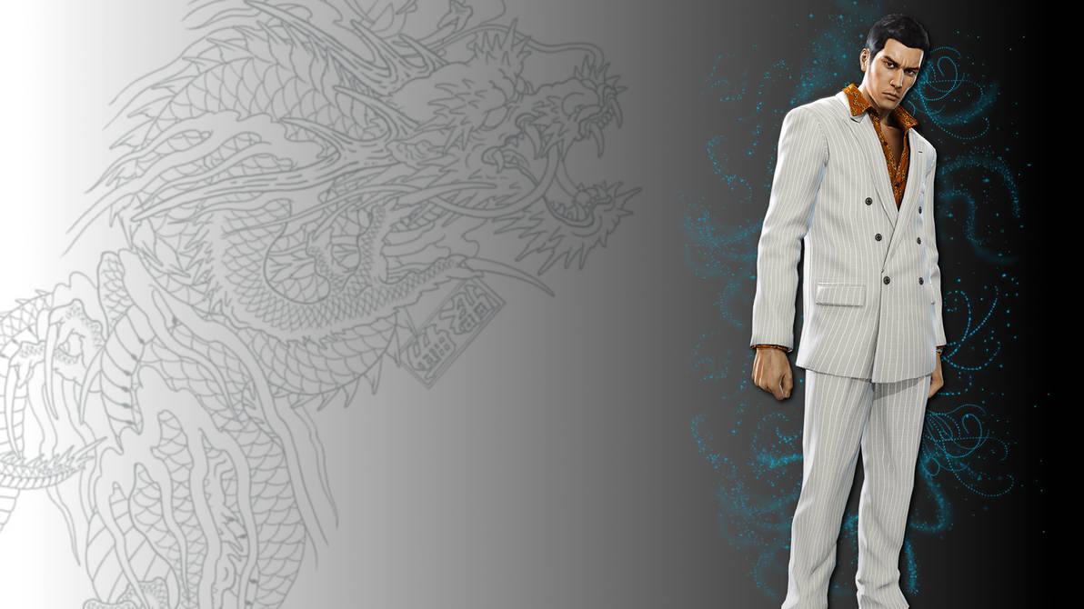 Yakuza 0 Kiryu Wallpaper By Drasticxx On Deviantart