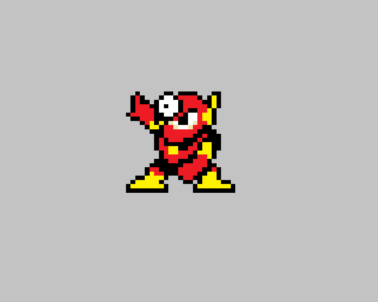 metalman sprite by agarios96
