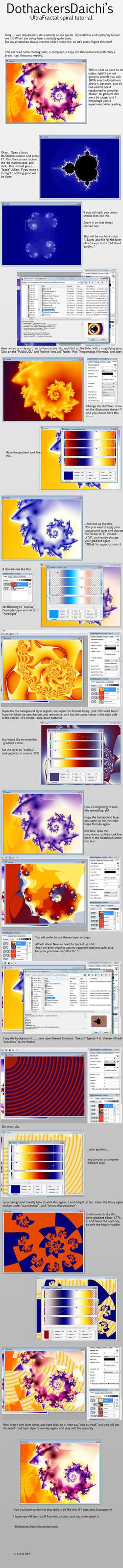 UltraFractal tutorial by OutsideFate