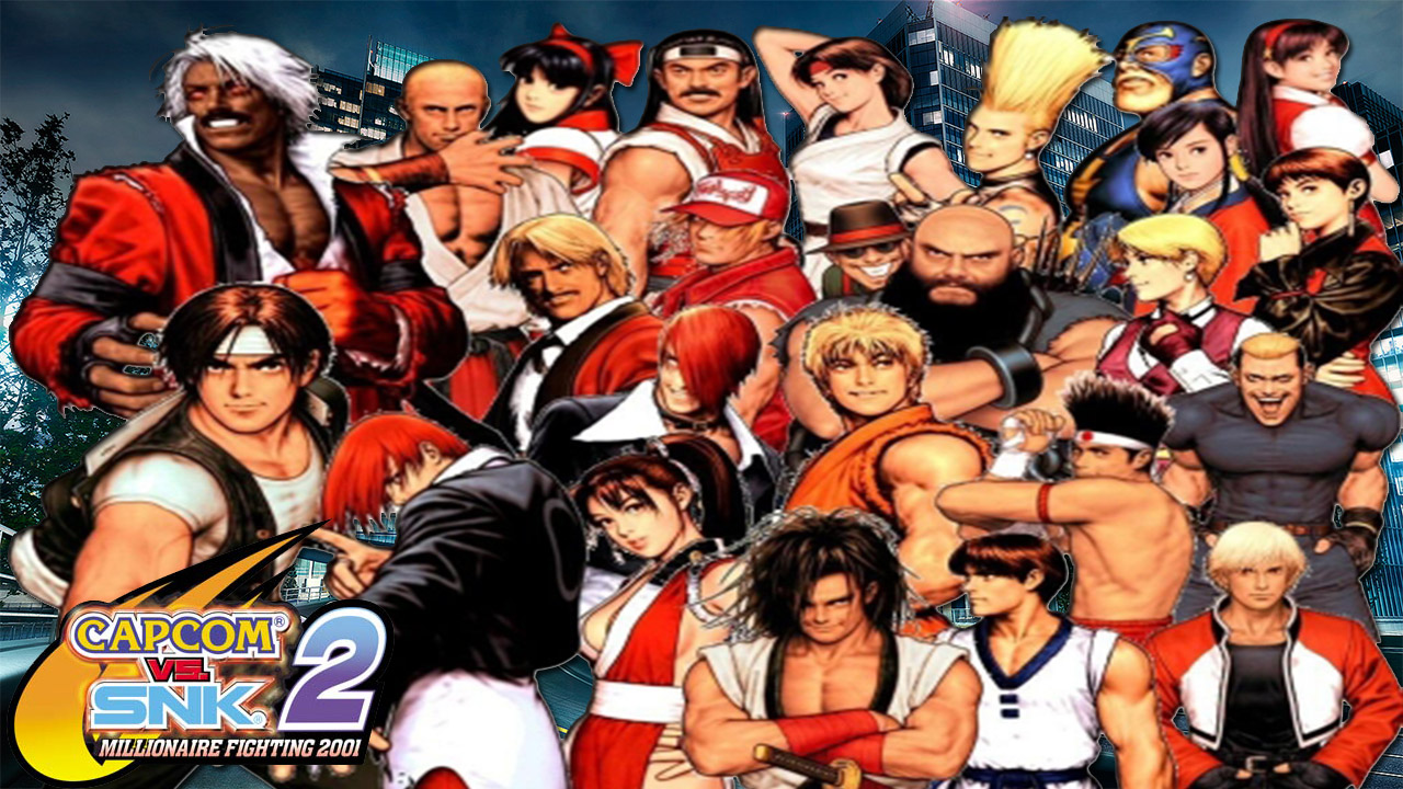 Capcom Vs Snk 2 Wallpaper By Criadic23 On Deviantart