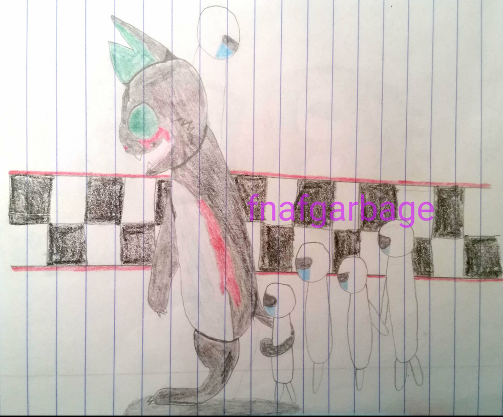 Follow the leader by fnafgarbage