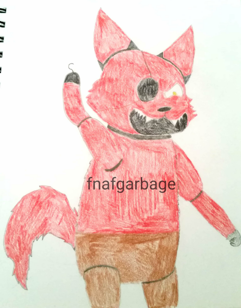 It's foxy! by fnafgarbage