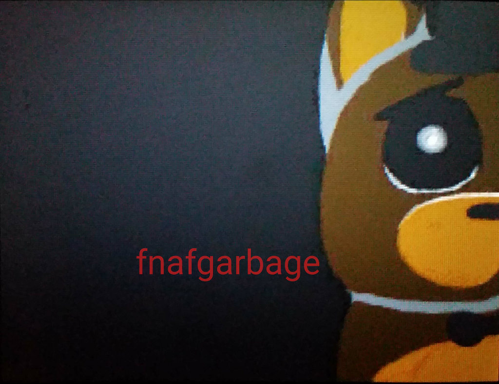 I wanna go home by fnafgarbage